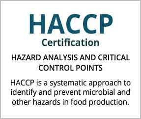HACCP Certification United Kingdom