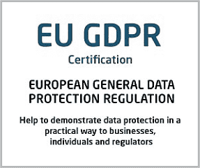 EUGDPR Certification United Kingdom